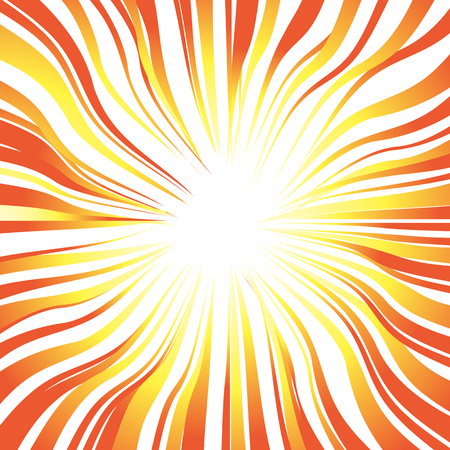 Suns rays or explosion vector background for design speed, movement and energy.