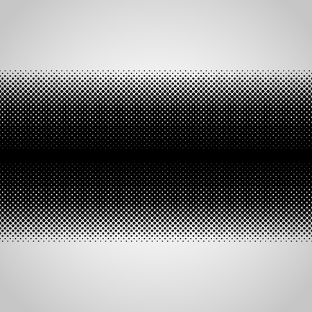 Halftone abstract vector black dots design element isolated on a white background. Illustration