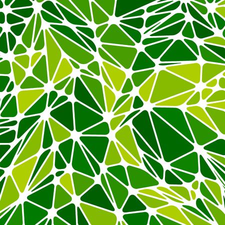 Moderne geometrische abstracte mozaïekachtergrond. Donkere en lichte afgeronde grafisch ontwerp driehoek patroon. Vector Illustratie