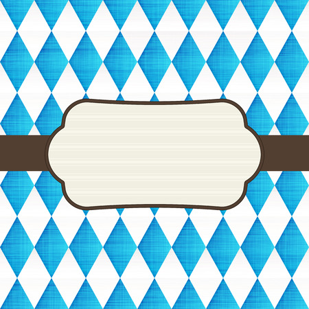 Oktoberfest design background Illustration