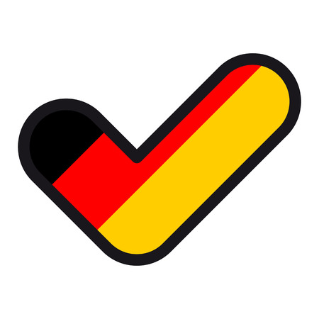 Flag of Germany. Illustration