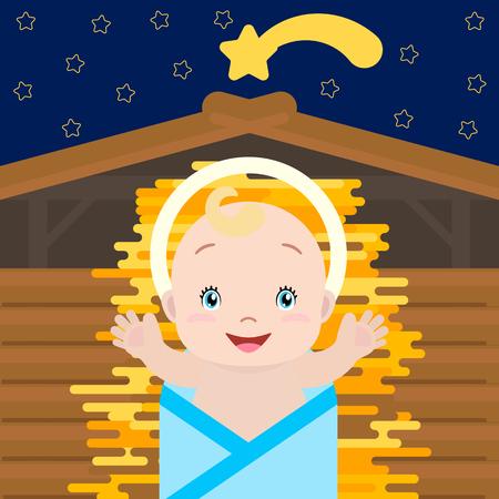 Baby Jesus concept
