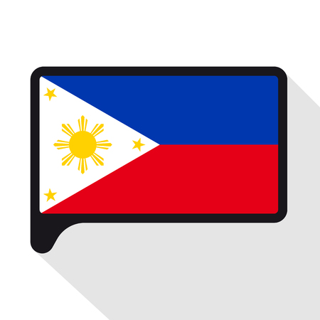Speech Bubble Flag Of Philippines The Symbol Of Independence
