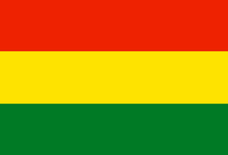 Flag of Bolivia. Symbol of Independence Day, souvenir sport game, button language, icon. Illusztráció