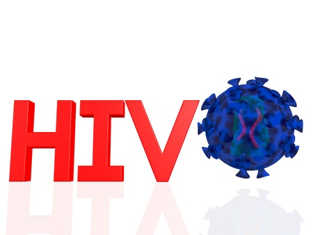 Hiv virus photo