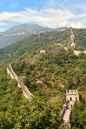greatwall: The great wall Stock Photo