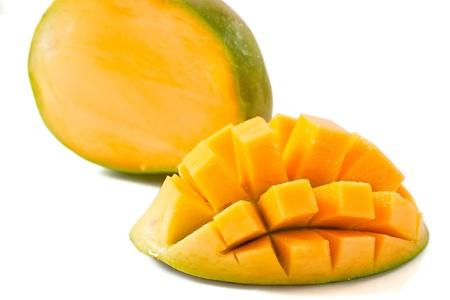 mango: geschnitten Mango