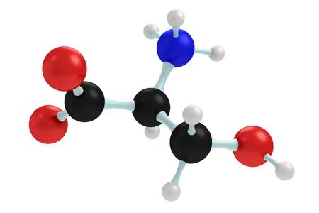 serine: model of serine