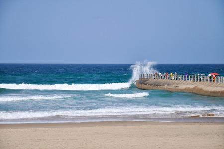 granola: La pesca con gran ola