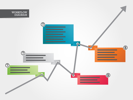 growing business: Growing Business Colorful Diagram