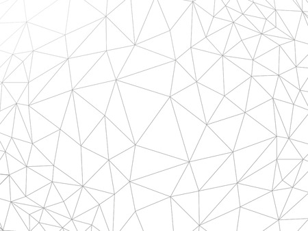 rumpled: Line abstract geometric rumpled triangular low poly style vector illustration graphic background