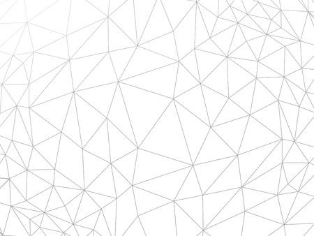 Line abstract geometrische verkreukelde driehoekige laag poly stijl vector illustratie grafische achtergrond