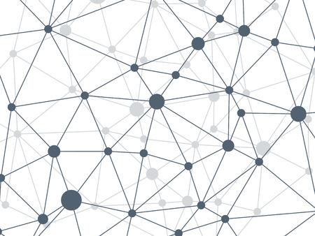 Verkreukelde driehoekige laag poly stijl gras groen geometrische netwerk patroon. Abstracte achtergrond. Vector grafische illustratie sjabloon Stock Illustratie