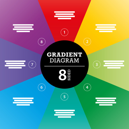 er: Gradient full background stripe diagram vector Illustration