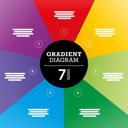 Gradient Voll Hintergrund Streifen Diagramm Vektor Standard-Bild - 30818868