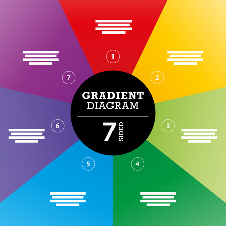 Gradient full background stripe diagram vector Illustration