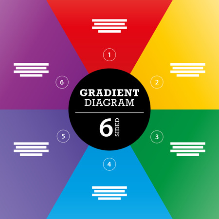 er: Gradient full background stripe diagram vector Illustration