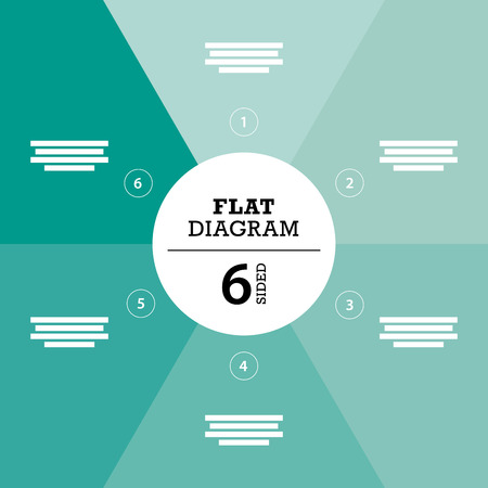 Green full background flat stripe diagram vector Çizim