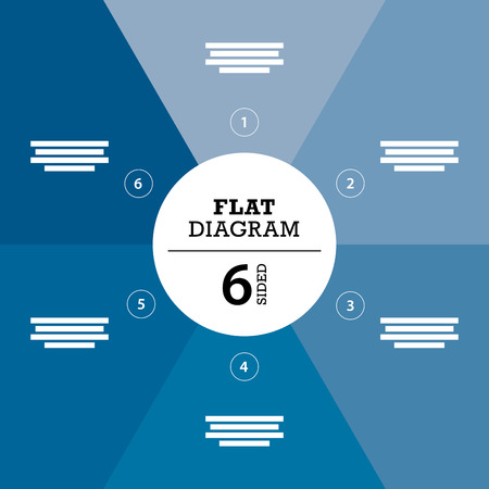 er: Blue full background flat stripe diagram vector