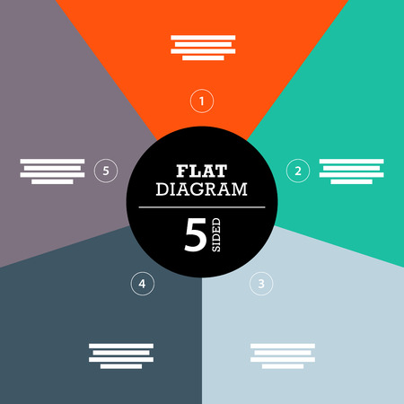 Colorful full background stripe puzzle presentation diagram infographic template with explanatory text field