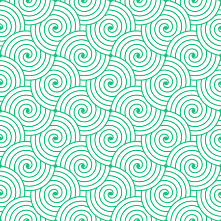 waves pattern: Colorful geometric seamless repetitive curvy waves pattern texture .