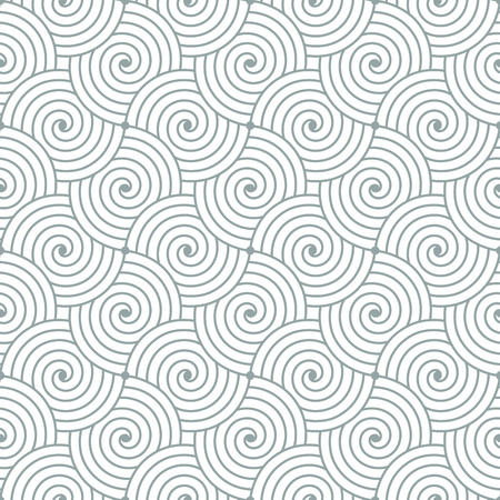 waves pattern: Colorful geometric seamless repetitive curvy waves pattern texture background. Illustration