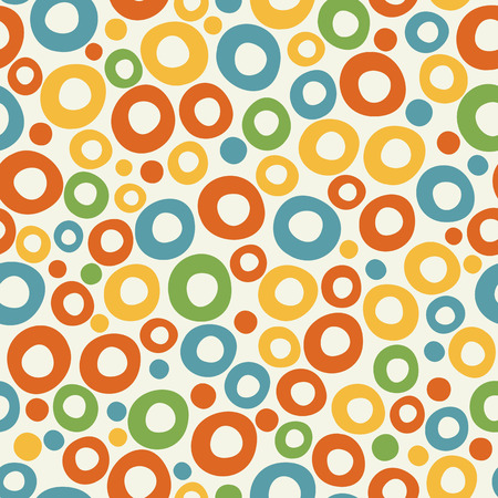 Colorful funky bubble background.