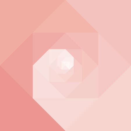 Abstract geometric vortex spiral background. Dynamic optical art. Vector illustration graphic. .