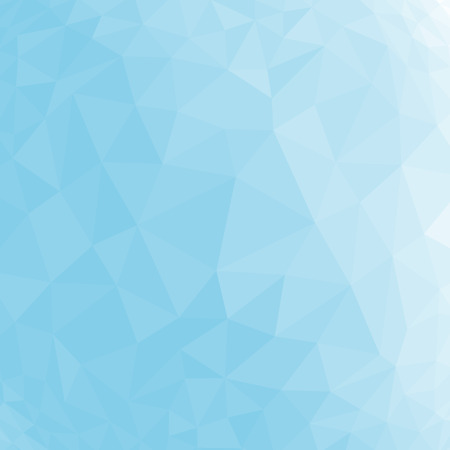 Blue abstract geometric rumpled triangular low poly style vector illustration graphic background