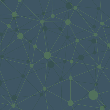 rumpled: Rumpled triangular low poly style geometric network pattern.