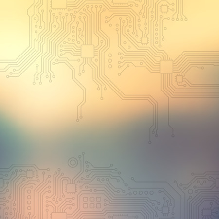 High-tech technology abstract background.