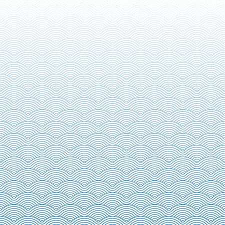 Colorido geométrico repetitivo vector con curvas olas patrón de textura de fondo gráfico vectorial ilustración