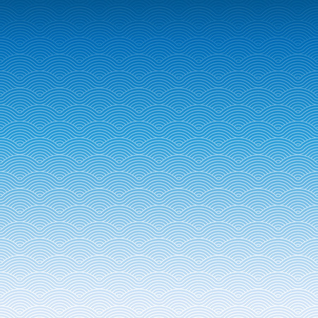 Colorful geometric repetitive vector curvy waves pattern texture background vector graphic illustration Иллюстрация