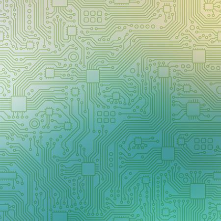 Technologie abstraite mère illustration de fond. Vector graphic modèle. Banque d'images - 46085305