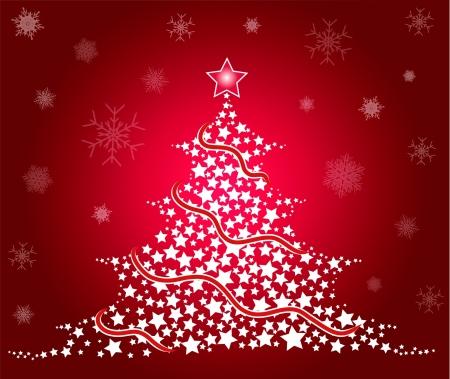 hapiness: Christmas Tree Illustration
