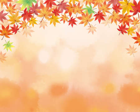 Illustrations studded with autumn leaves