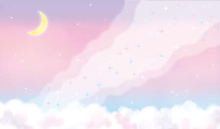 Fancy Sky and The River of Heaven Illustration
