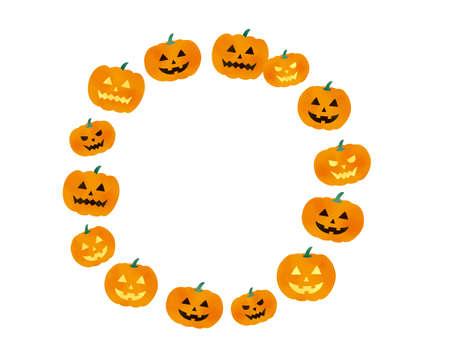 Halloween Pumpkin Illustration Set