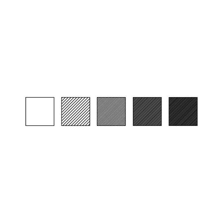 Vector illustration of cube gragient. Geometric design elements. Ilustração
