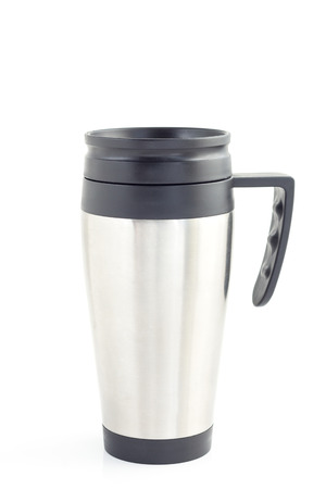 insulated drink container: Insulated cups made of stainless steel for hot drinks