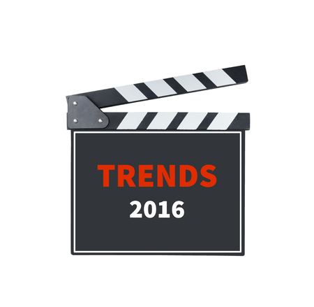 tendency: TRENDS 2016, message on slate