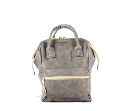 lather: gray hipster lather backpack