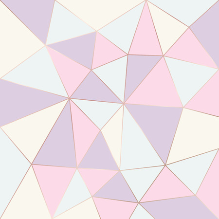 Abstract geometric pattern pastel color. Relief triangles  vector background. Illustration