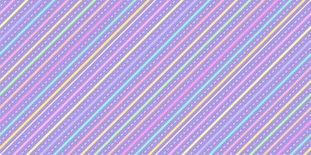 Pastel stripe pattern seamless. Unicorn stripe background texture for kid fabric print, wallpaper, wrapping paper, textile, baby background, banner and card design. Illusztráció