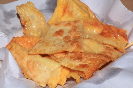 Roti , Thai Dessert Pancake with Milk and Eggs  photo