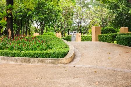 public park: Caminar Camino en parque p�blico