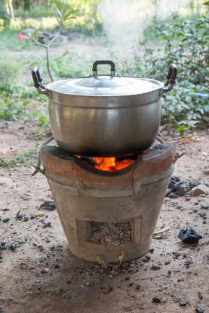 stoking: Thai Style Cooking with Charcoal Stove
