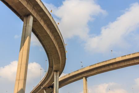 Industrial Ring Road Bridge in Thailand Banco de Imagens - 26552064