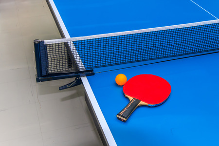 Equipment for Table Tennis Stock fotó - 30380475