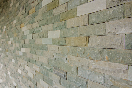 revetment: Stone Brick Wall, Abstract Background